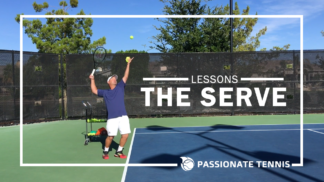The Serve Lesson