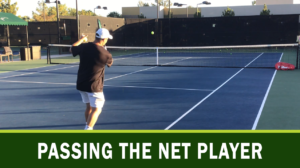 passing the net player