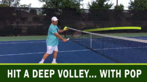 Hit a Deep Volley... with Pop